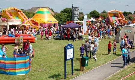 Bradley Stoke Stoke Festival, Jubilee Green