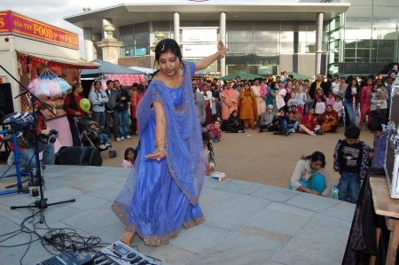 Diwali Dancer