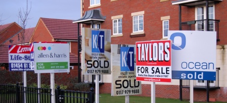 Estate Agent's Boards in Bradley Stoke
