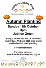 Jubilee Green Autumn Planting Event