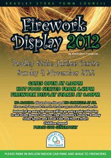 Bradley Stoke Firework Display 2012.