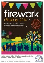 Bradley Stoke Firework Display 2014.