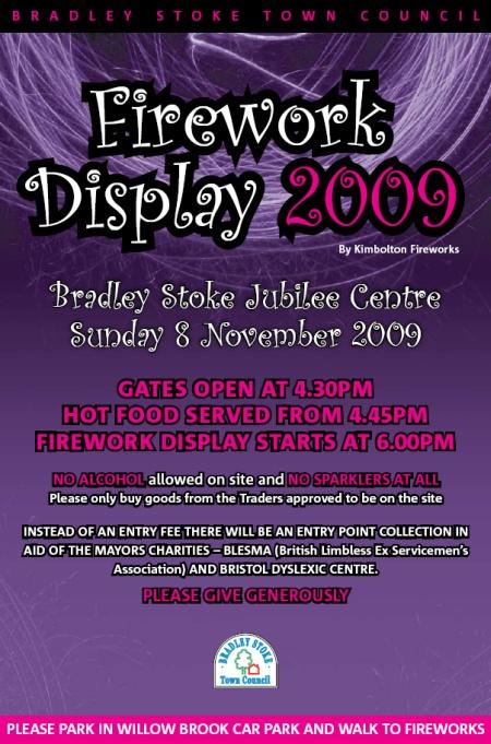Bradley Stoke Fireworks 2009