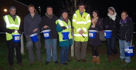 Bradley Stoke Fireworks - Charity Collectors