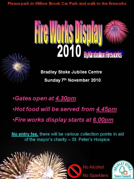 Bradley Stoke Fireworks Display 2010