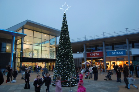 Christmas at the Willow Brook Centre, Bradley Stoke