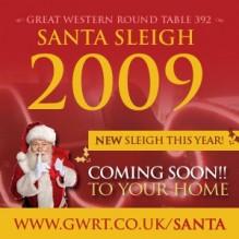 Santa Sleigh 2009