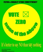 Vote Zero None of the Above