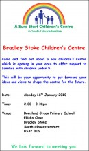 Sure Start Children's Centre Meeting