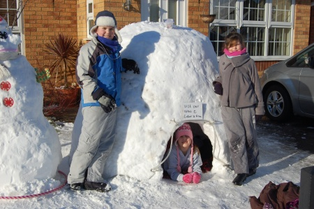 Igloo in Three Brooks Lane
