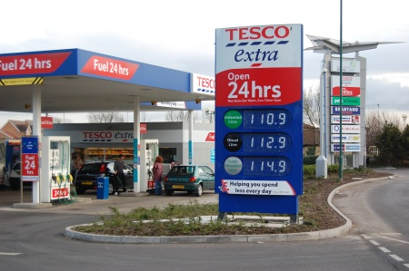Bradley Stoke Journal | Are we paying over the odds for fuel at Tesco?