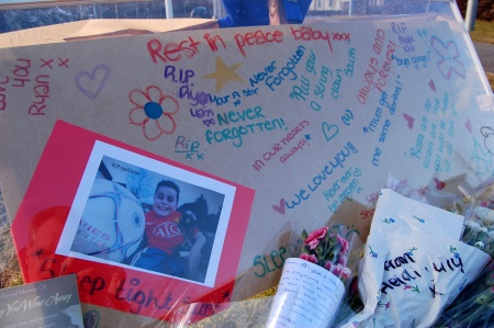 Tributes to Ryan Abrahams