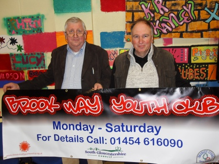 Councillors at Brook Way Youth Club