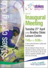 Stoke Cycling Club - Inauagural Meeting