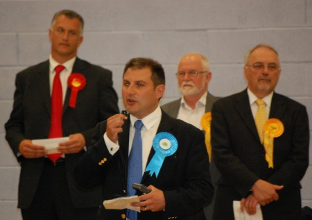 Jack Lopresti wins in Filton and Bradley Stoke.