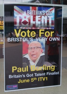Paul Burling - Britains's Got Talent Finalist