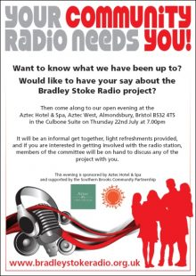 Bradley Stoke Radio New Members' Event