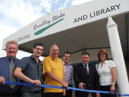 Conservative Campaigners at Bradley Stoke Library