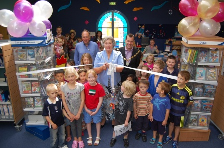 Offical Re-opening of Bradley Stoke Library