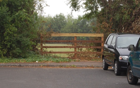Access Point in Wheatfield Drive, Bradley Stoke