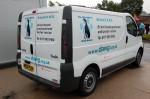 Bristol Dog Action Welfare Group's (DAWG's) rescue van