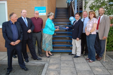 Opening of the Constituency Office of Jack Lopresti MP in Bradley Stoke, Bristol
