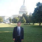 Jack Lopresti MP on Capitol Hill, Washington DC, USA