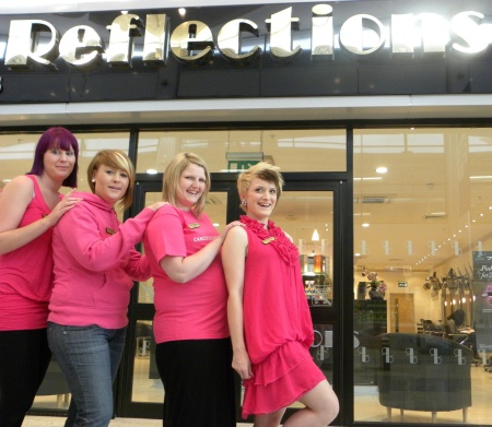 Pink Days at Refelctions Hair Salon, Bradley Stoke, Bristol