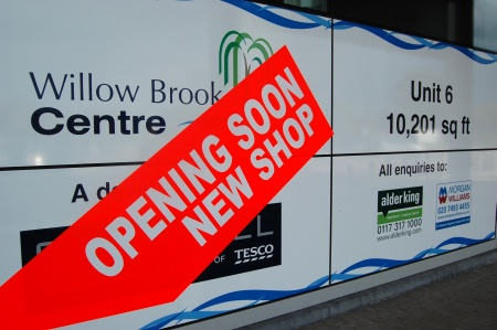 Retail Terrace Unit 6 at the Willow Brook Centre, Bradley Stoke, Bristol