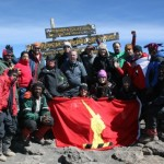 Bibby Line Group employees on Kilimanjaro