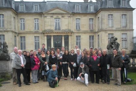 Champs-sur-Marne twinning visit - Champs Chateau