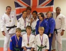 Bradley Stoke Judo Club medal winners 2010