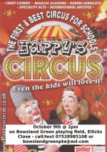 Happy's Circus at Bowlands Green Primary School, Bradley Stoke, Bristol