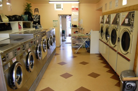 The Launderette, Patchway: washing machines and driers