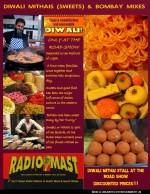 Indian sweet stalls