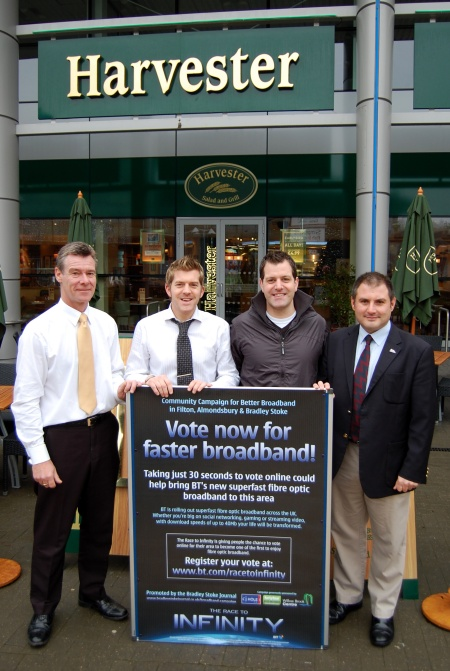 Harvester Bradley Stoke - sponsors of the Better Broadband campaign