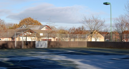 Hard court at Brook Way Activity Centre