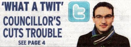 Cllr Robert Jones - What a Twit!