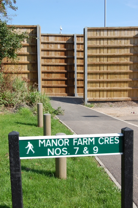 Manor Farm Crescent access point