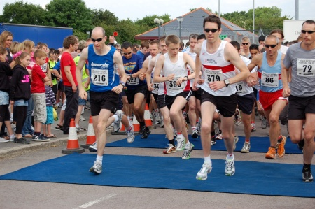 Bradley Stoke 10k Run 2010
