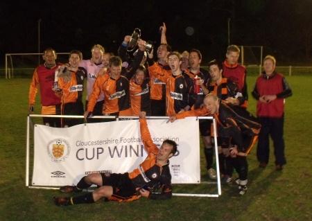 Bradley Stoke Town FC - cup winners