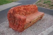 Ryan Abrahams memorial bench, Bradley Stoke