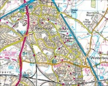 Domesday Reloaded - Map of Bradley Stoke in 2011