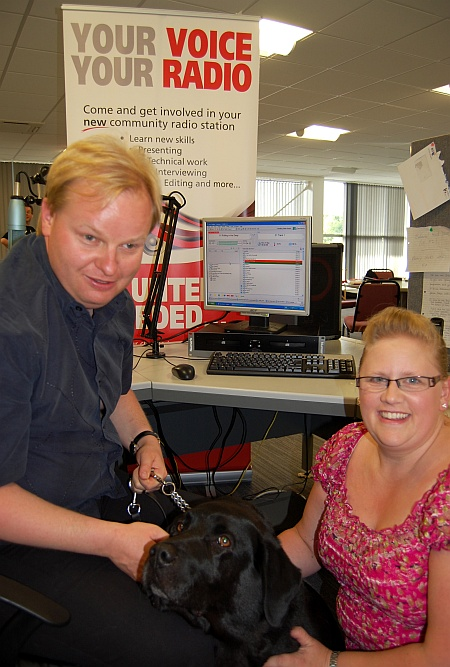 Stephen & Lucy, the Bradley Stoke Radio morning crew
