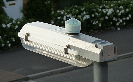 Bradley Stoke street light with photocell