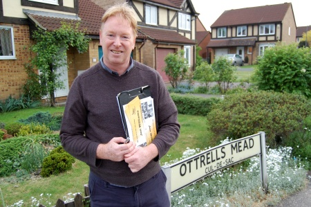Jon Williams (Liberal Democrat) in Ottrells Mead, Bradley Stoke