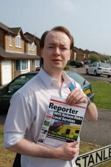 Jonathan Moore (Labour) in Stanley Mead, Bradley Stoke