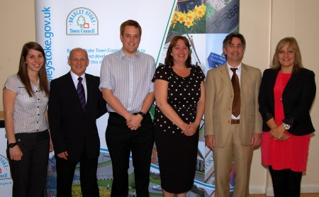 Newly-elected Bradley Stoke Town Council members