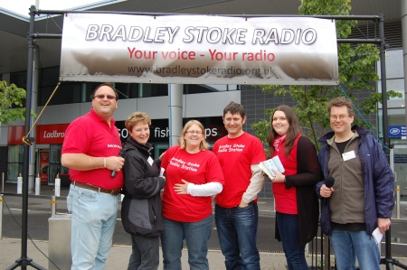 Bradley Stoke Radio's pre-launch event in June 2011