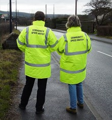 Community Speed Watch volunteers